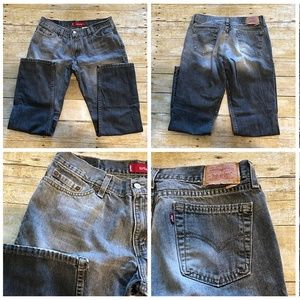 507 Superlow Slim Jrs 13 Gray Faded Jeans